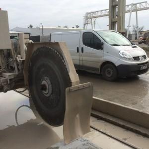 Kotouče na řezání betonu pro panelárny