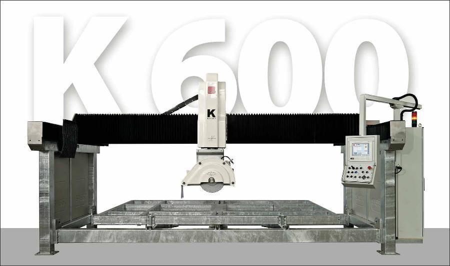CNC mostové frézy - K600