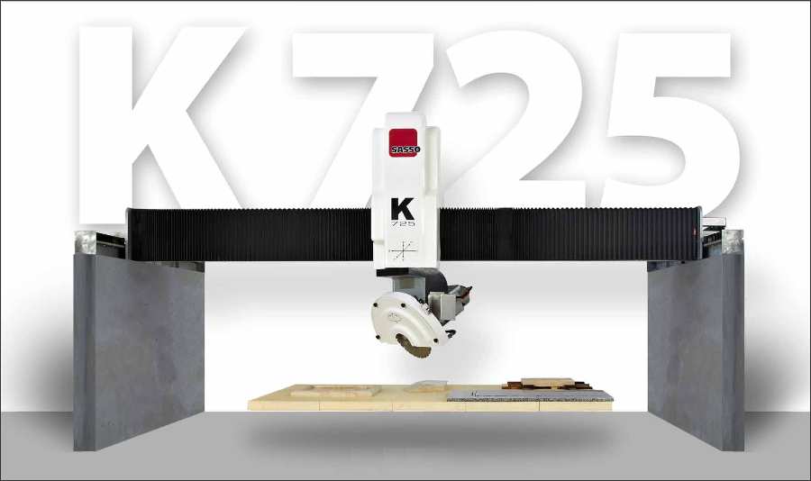 CNC mostové frézy - K725